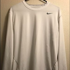 Nike Pro Combat Long Sleeve Shirt. Fitted. XL